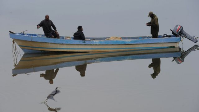Pescadores garífuna