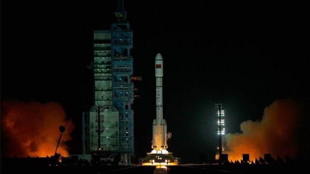 Ubushinwa bwaguruye ico kigendajuru Tiangong-1 mu 2011