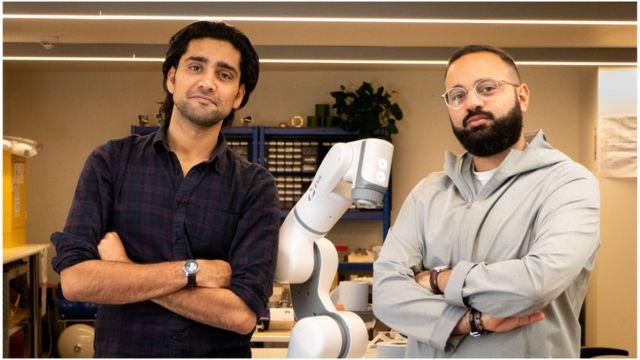 Automata founders Suryansh Chandra e Mostafa Elsayed