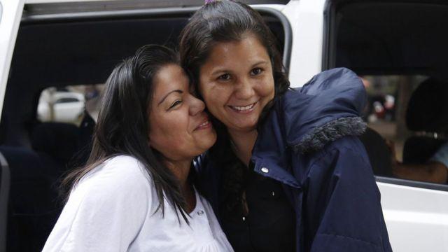 Jacqueline Vasquez Sanchez and Lorena Sanchez