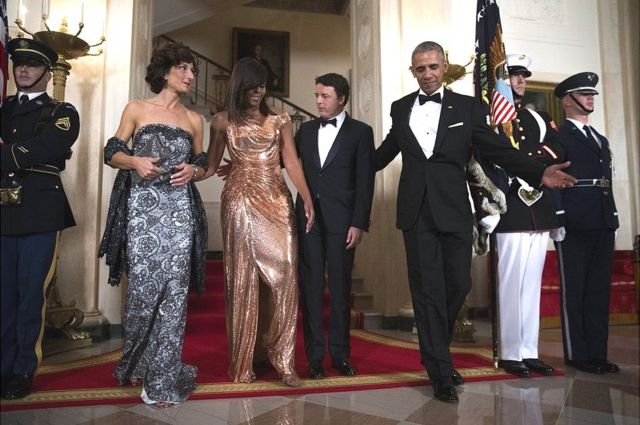 बराक और मिशेल ओबामा
