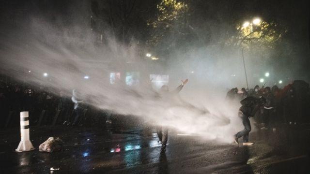 Fransa'da polis müdahalesi