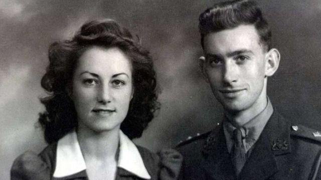 Jean e George Spear em 1942