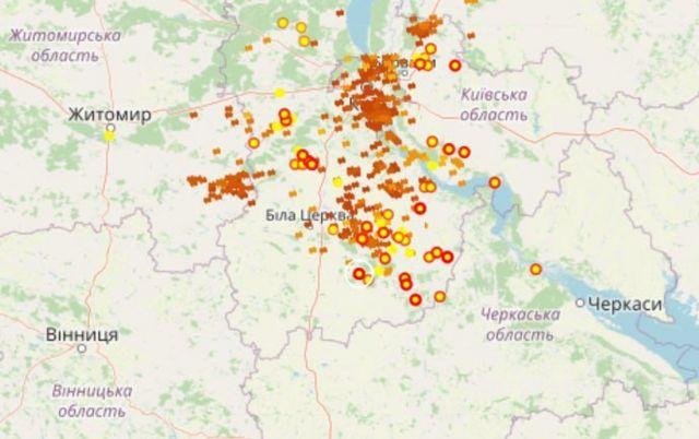 Злива у Києві затопила вулиці і станції метро