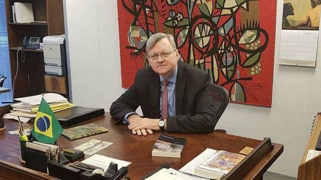 Embaixador brasileiro em Washington, Nestor Forster