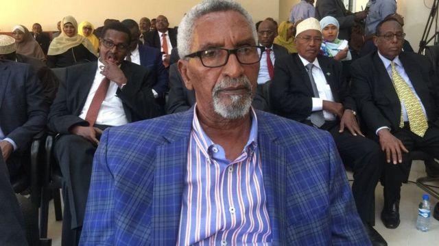 Cabdi Xaashi, gudoomiyaha Aqalka Sare