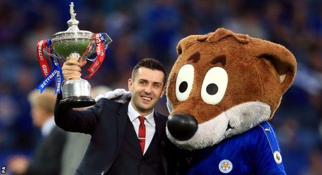 Leicester yatwaye igikombe cya shampiyona