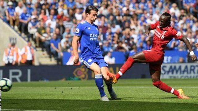 Sadio Mane ariko yinjiza igitsindo Leicester