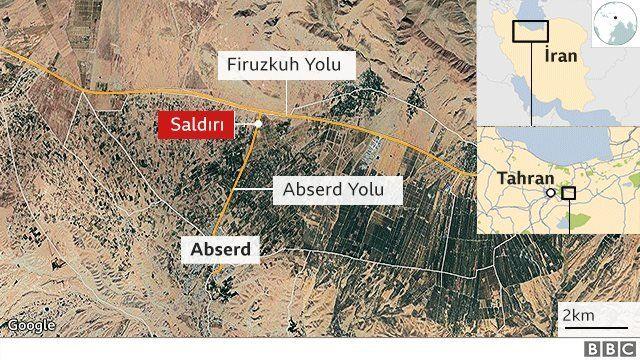 Muhsin Fahrizade'nin öldürüldüğü yer