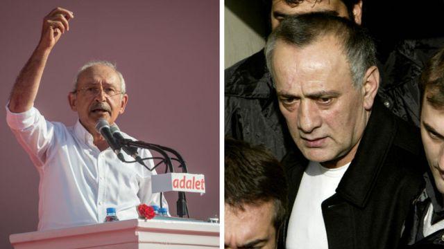 Kemal Kılıçdaroğlu ve Alaattin Çakıcı
