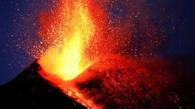 کوه اتنا، فعالترین آتشفشان اروپا است