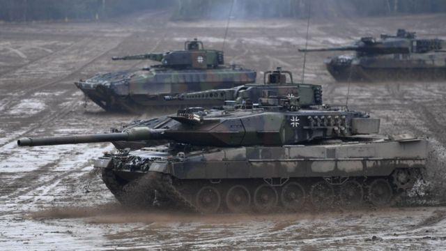 Tanque de la Bundeswehr.