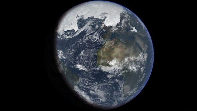 氷河期の地球