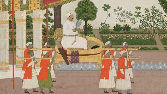 పల్లకీలో మహమ్మద్ షా