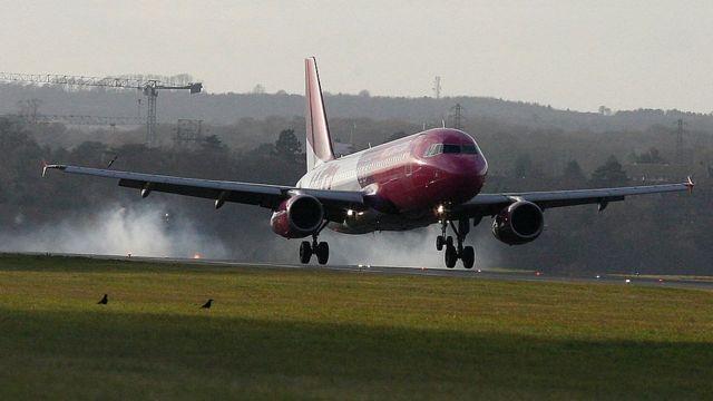 Лайнер Wizz Air
