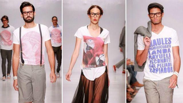 Diseños de Galeano en Dominicana Moda.