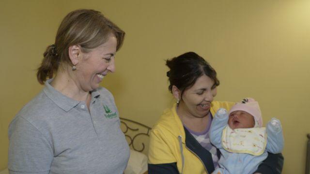 Анна родила своего девятого ребенка уже будучи беженкой