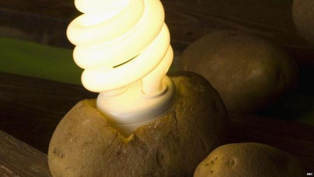 ਆਲੂ ਤੋਂ ਬਲਦਾ ਬਲਬ/ Potato Tube light