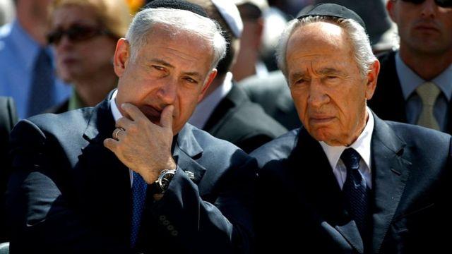 شیمون پرز نتانیاهو
