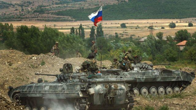 Ruski tenkovi u Gruziji
