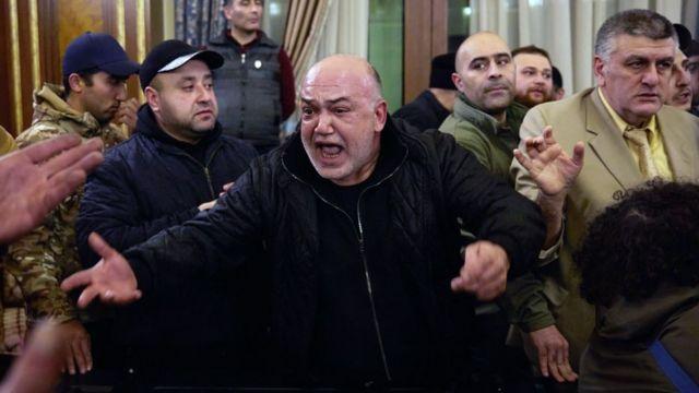 Protestas en Armenia.