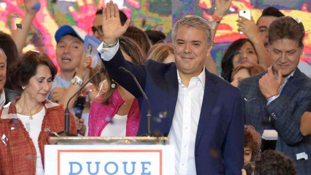 Elecciones en Colombia: Iván Duque será presidente tras derrotar a Gustavo  Petro - BBC News Mundo