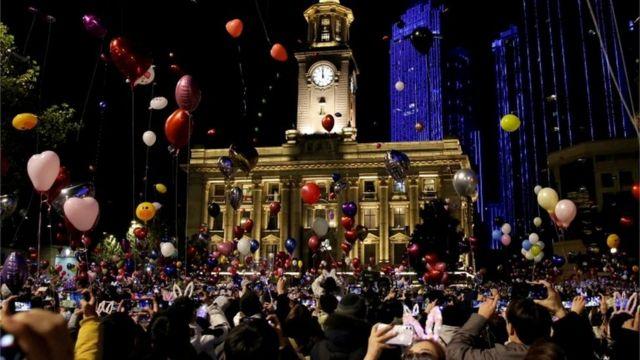 2021年新年前夕的武汉