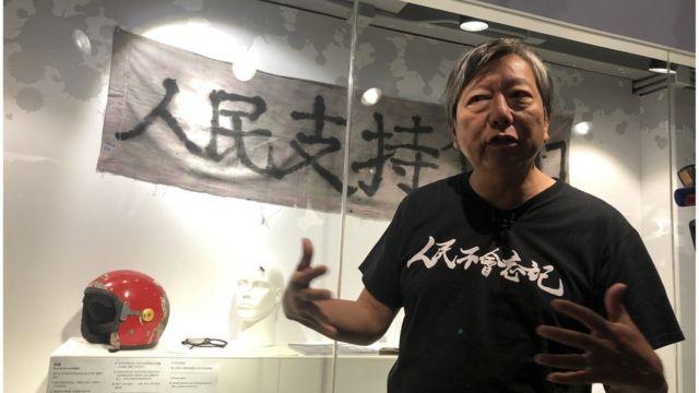 李卓人担心香港有朝一日连举行六四烛光晚会都会被打压。