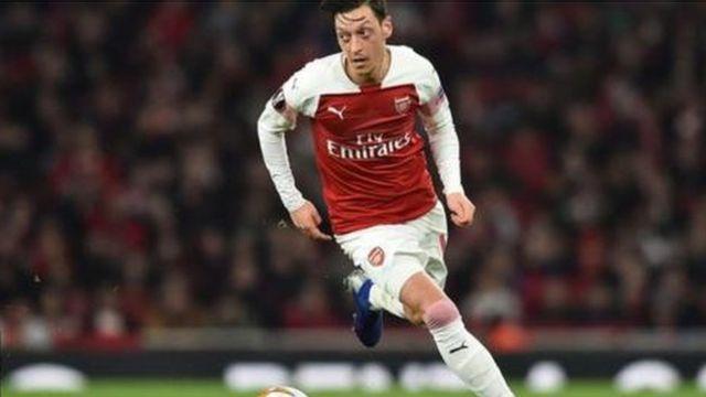 Kiungo wa kati wa Arsenal Mesut Orzil
