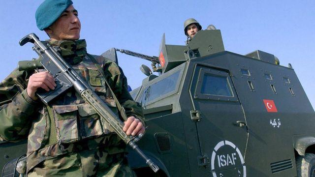 Afganistan'da Türk askeri