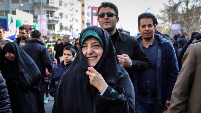 معصومه ابتکار، معاون رئیسجمهور ایران در امور زنان