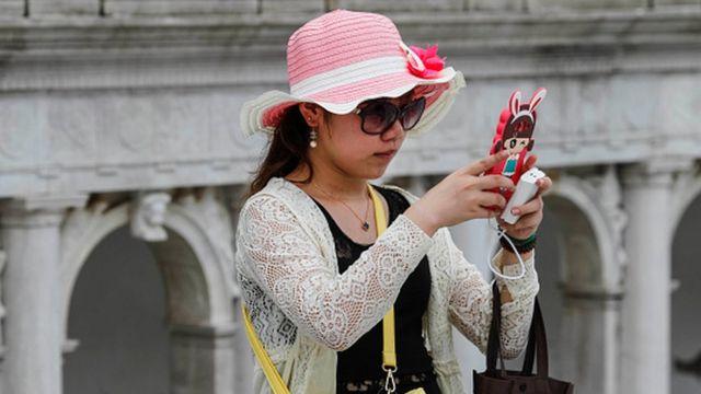 kineskinja turistkinja