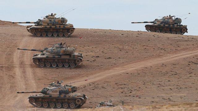 Турецкие танки в Сирии