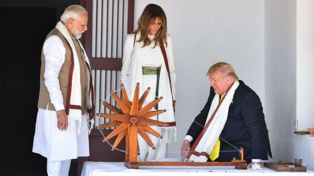 डोनाल्ड ट्रंप, नरेंद्र मोदी, गुजरात, भारत, अमेरिका