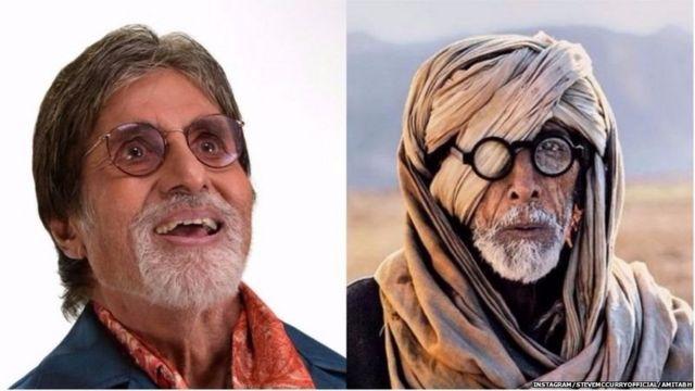 Amitabh Bachchan in the film 'Thugs of Hindostan'