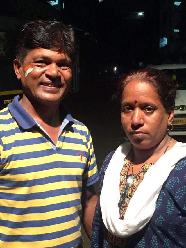 पूनम राउत के माता-पिता