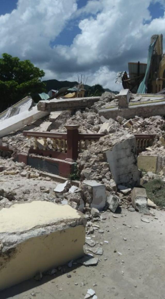 Imágenes del terremoto en Haití.