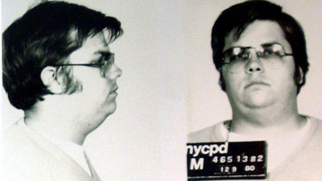 Foto de Mark David Chapman após sua prisão pelo assassinato de John Lennon.