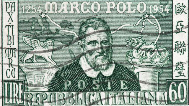 Ilustración de Marco Polo