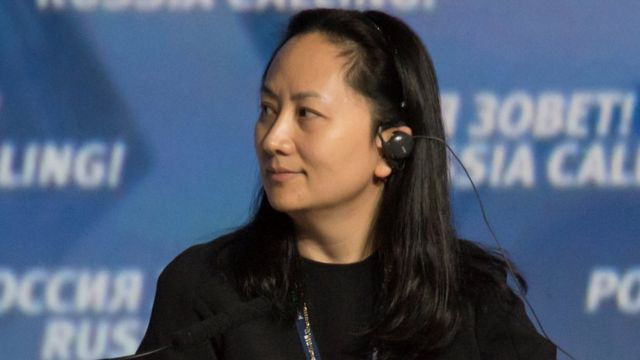 Huawei's chief financial officer Meng Wanzhou
