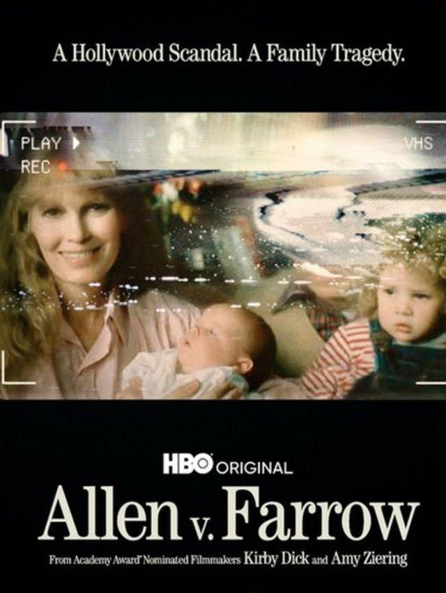 Portada del documental sobre Woody allen y Mia Farrow