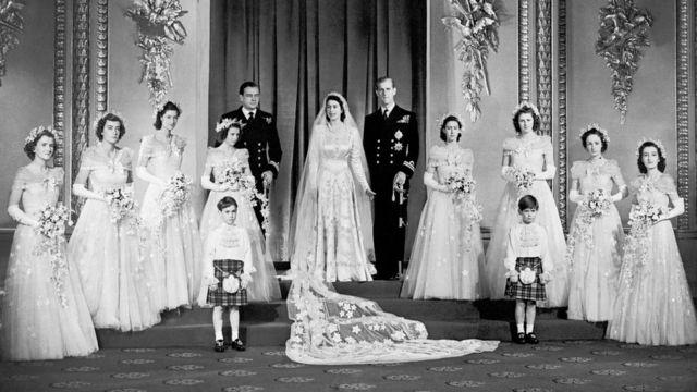 Свадьба Елизаветы II и принца Филиппа
