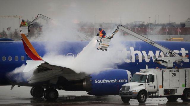 Аэропорт в Чикаго