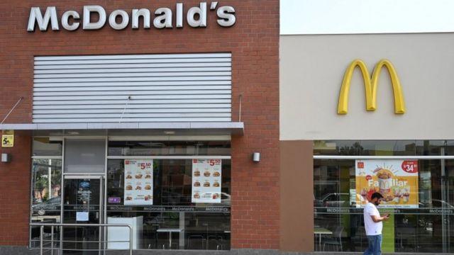 Local de McDonald's en Perú.