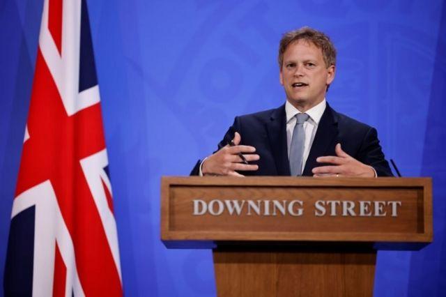İngiltere Ulaştırma Bakanı Grant Shapps