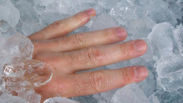 تأثير الماء المثلج على الجسم