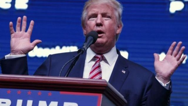 Trump avuga ko ubu agiye kugwanira Amerika ata gitsure