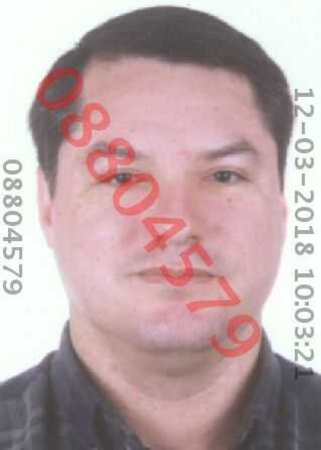 Jeffery Daniels Valderrama. Foto: Registro Nacional de Identificación y Estado Civil de Perú.