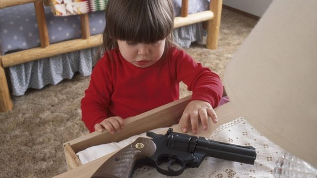 Guns at home: The question US parents hate to ask