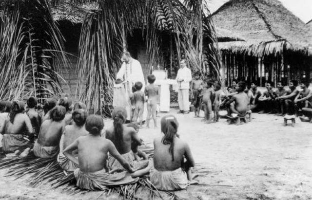 Missionários no Alto Rio Negro